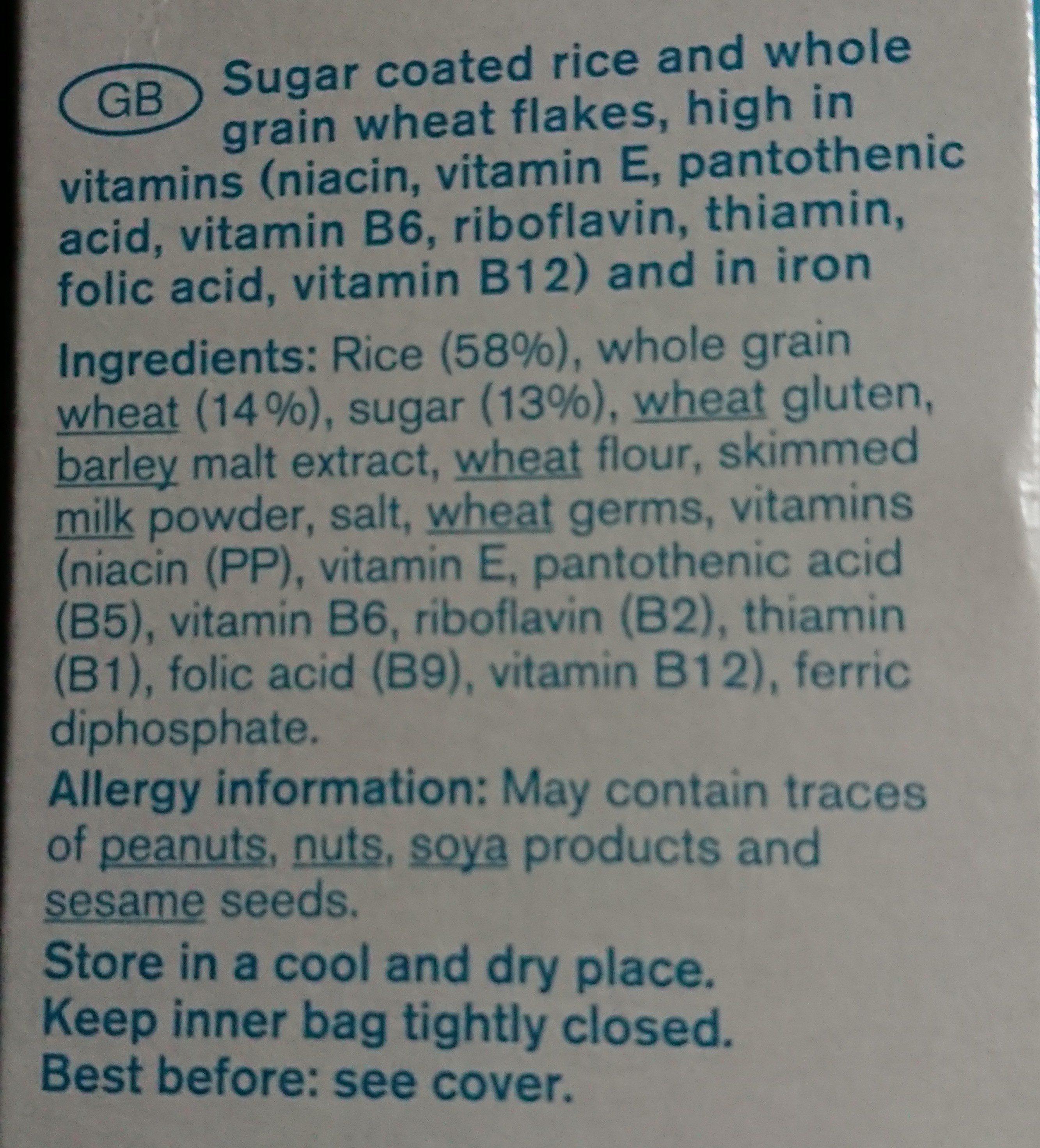 Multigrain Flakes Classic - Ingredients