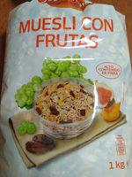 Muesli con frutas - Produkt