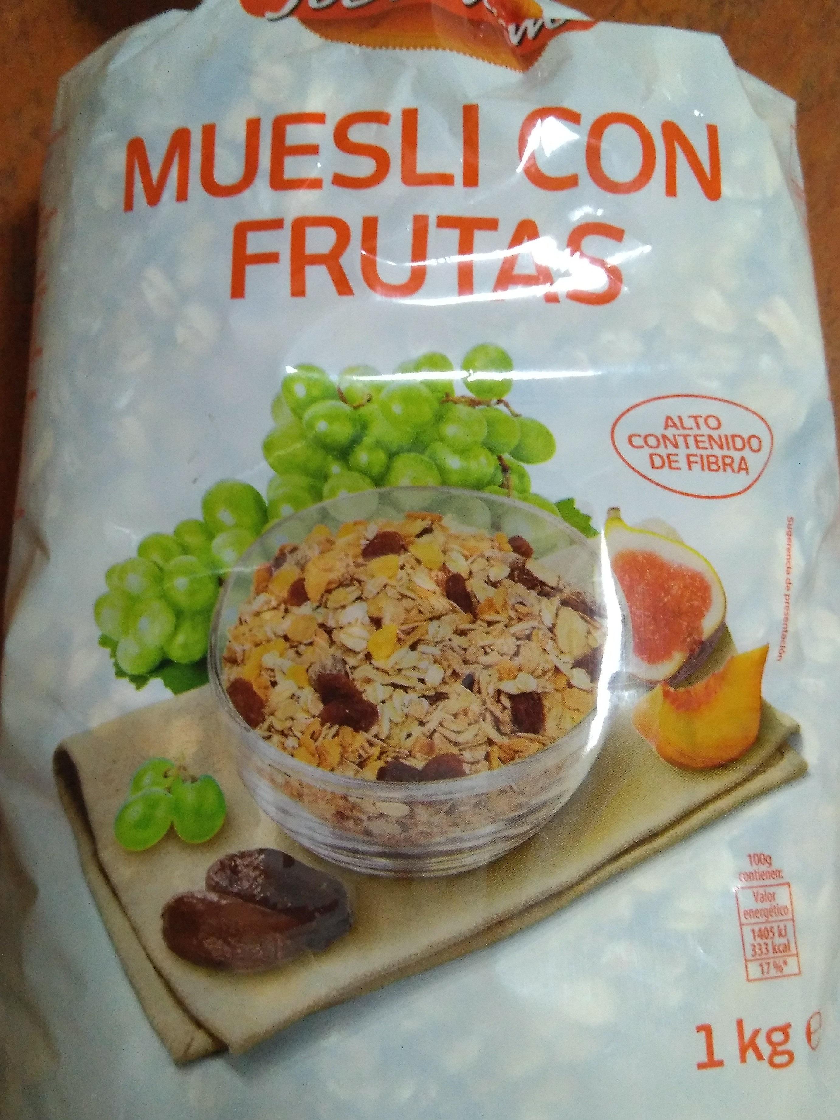 Muesli con frutas - Producte