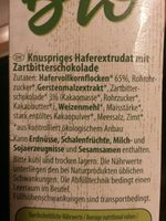 Bio HaferPops Schoko - Ingredients