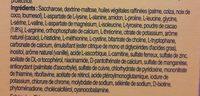 Milupa Pku 2 Shake Choco 10X50G Min Afn=3 - Ingredients - fr