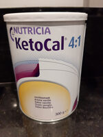 KetoCal 4:1 Vanille - Produit - fr