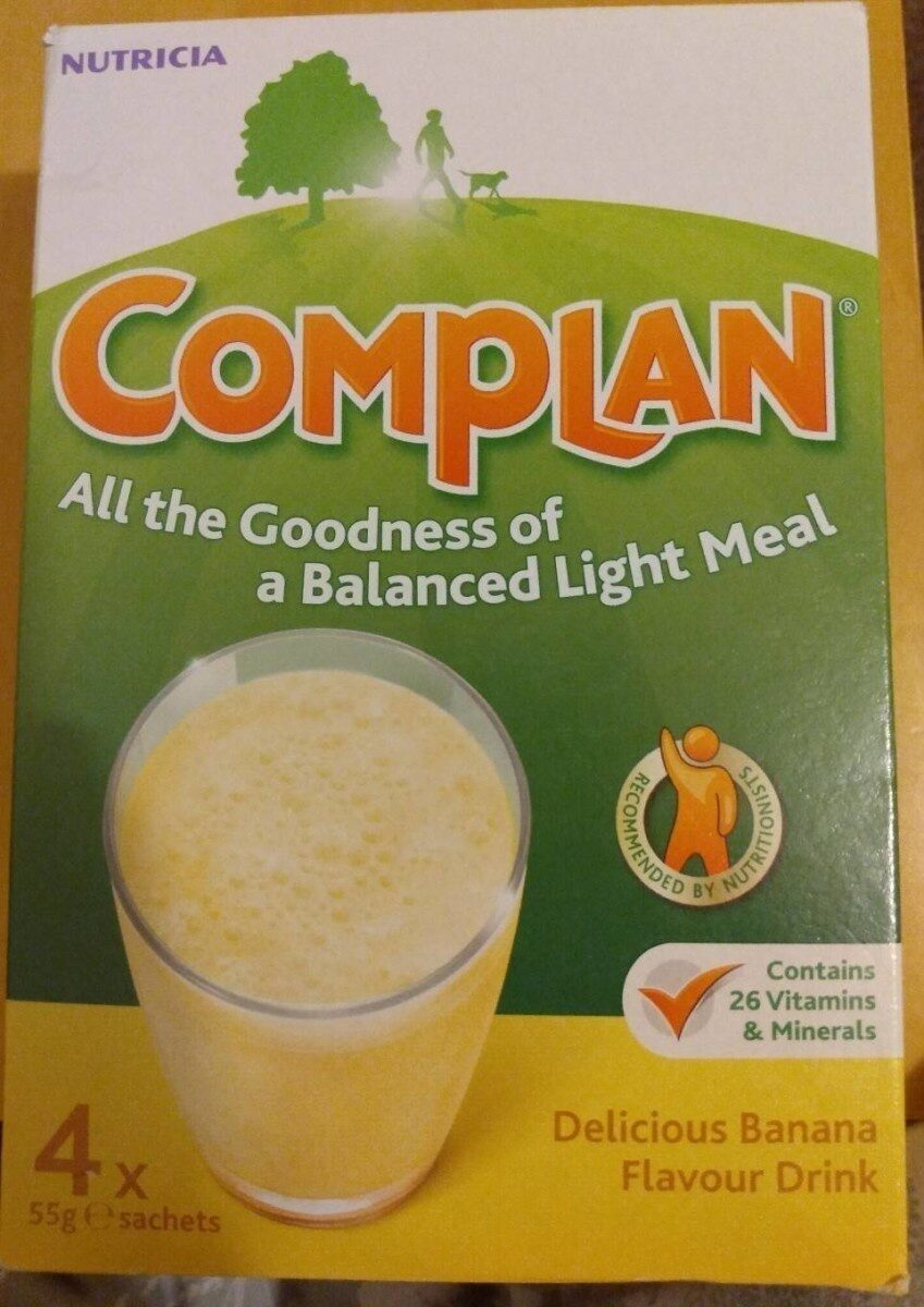Complan Banana Flavour Drink - Produit - en