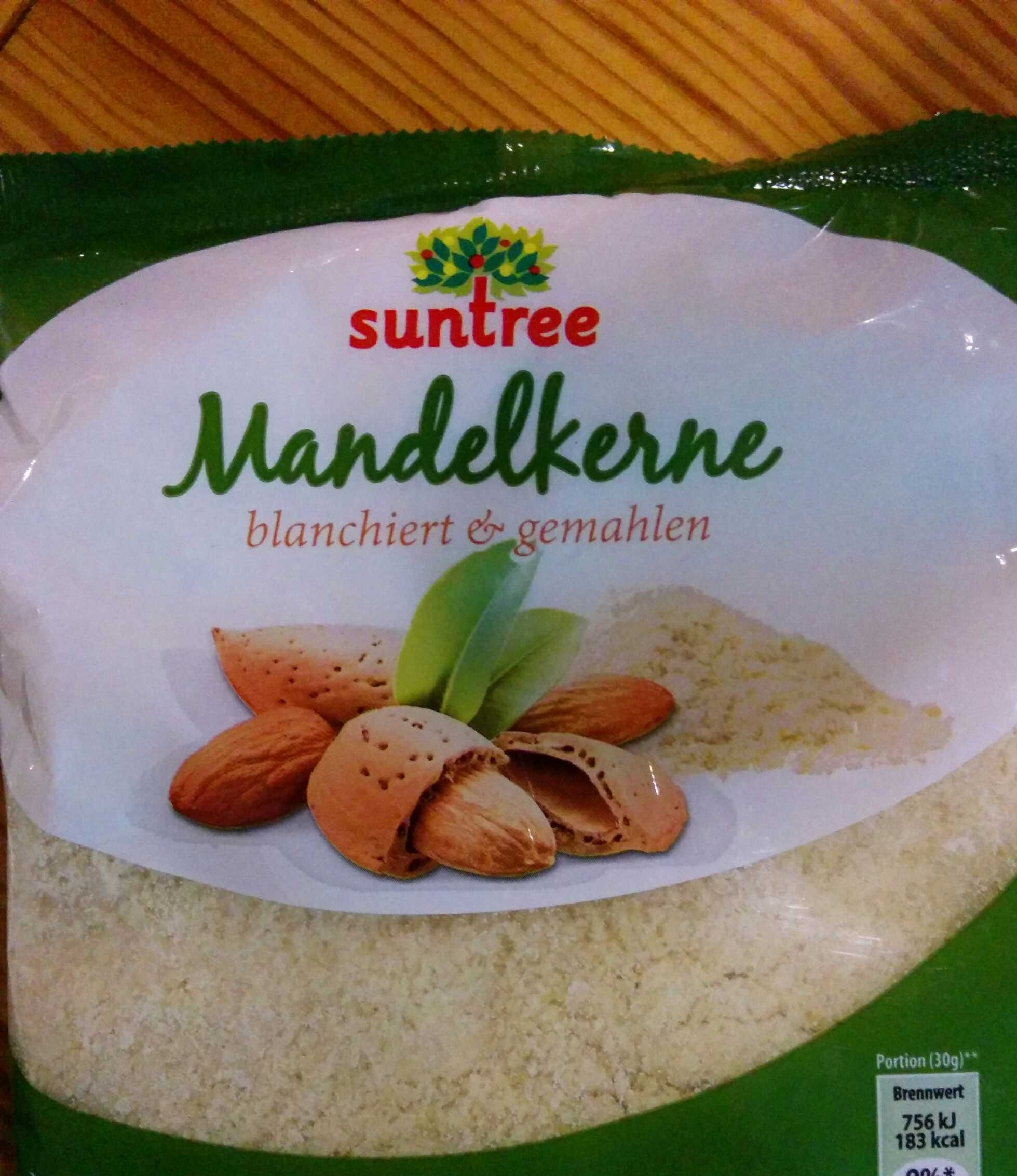Mandelkerne blanciert und gemahlen - Product - de