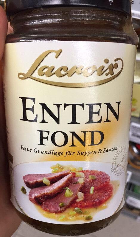 Entenfond - Produit