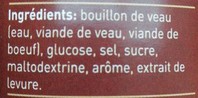 Lacroix Fond De Veau - Ingrediënten - fr