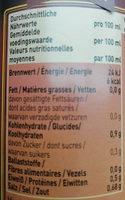 Lacroix Fond De Veau - Voedingswaarden - fr