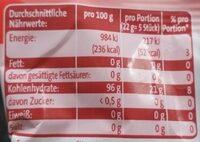 Em-eukal Wildkirsche Hustenbonbons - Informations nutritionnelles - de