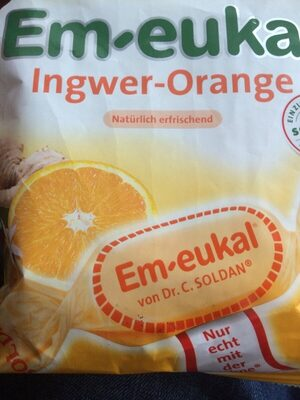 Em-eukal Ingwer-orange Zuckerfrei - Produit - fr