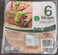 Wraps Mehrkorn mit Leinsamen - Produkt - de