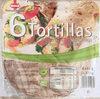 Sinnack 6 Tortillas Mehrkorn mit Leinsamen - Product