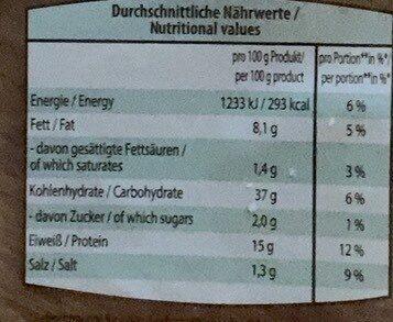 Eiweiß - Tortilla (40g=1Tortilla) - Produkt - en