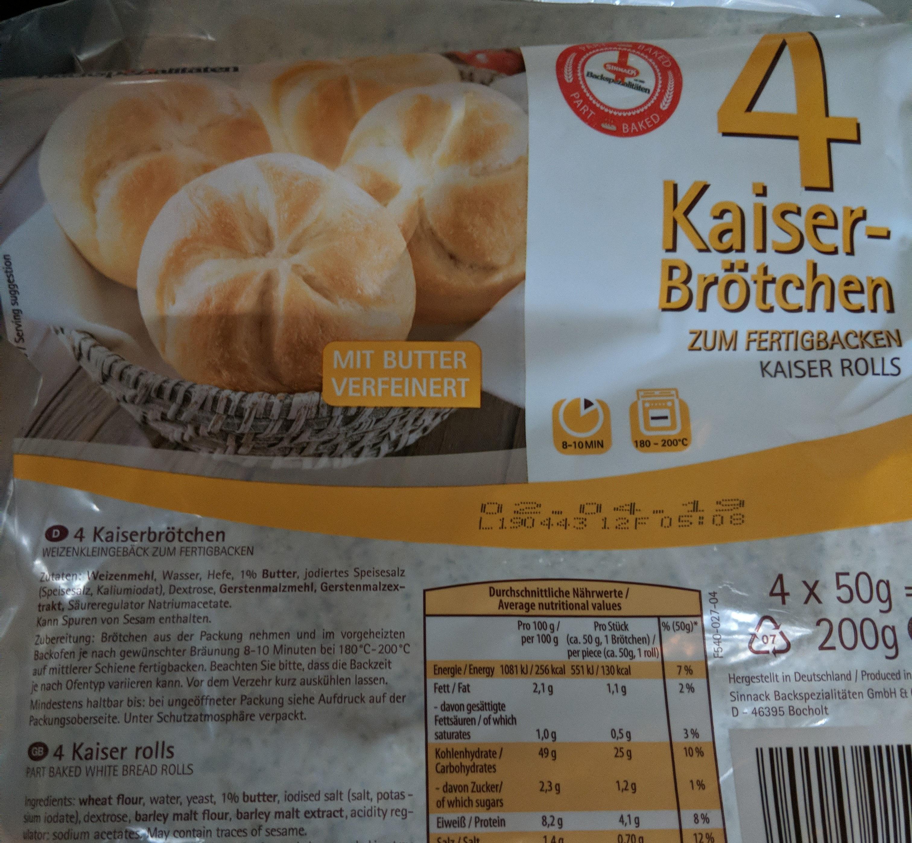 Kaiserbrötchen - Produit