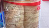 Baguettes - Ingredienti - fr