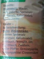 Kräuter-Baguette - Ingrediënten - de