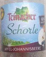 Schorle Apfel-Johannisbeere - Produkt - de