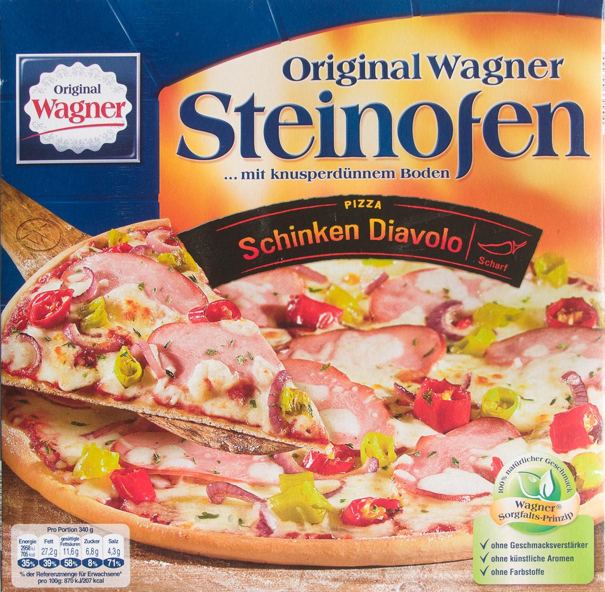 Steinofen Pizza Schinken Diavolo - Produkt - de