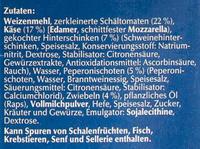 Steinofen - Zutaten - de
