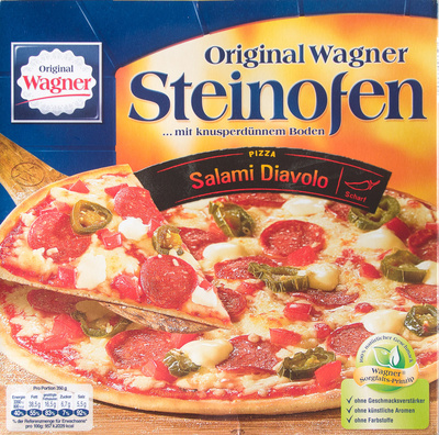 Steinofen Pizza Salami Diavolo - Produkt - de