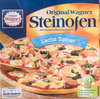 Steinofen Pizza Lachs Spinat - Product