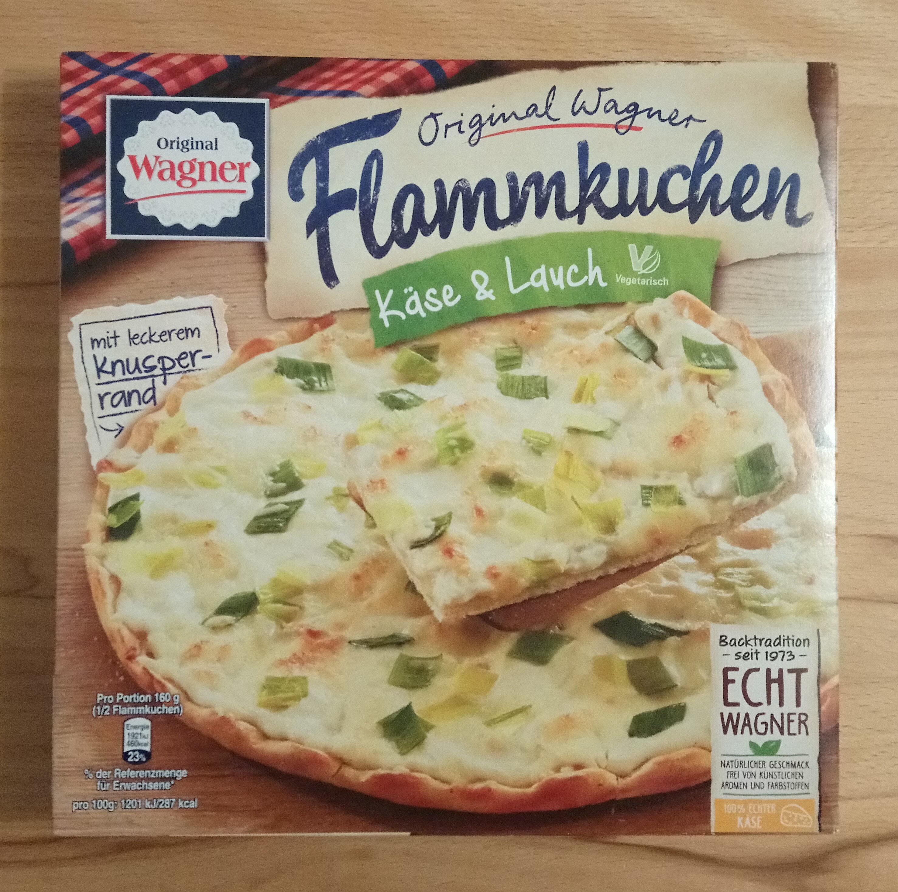 herzhafter Flammkuchen Käse & Lauch - Product