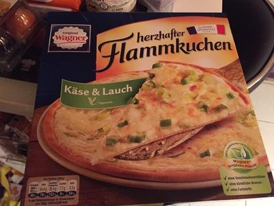Herzhafter Flammkuchen Käse & Lauch - Produit - fr