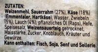 Herzhafter Flammkuchen Käse & Lauch - Ingredienti - de