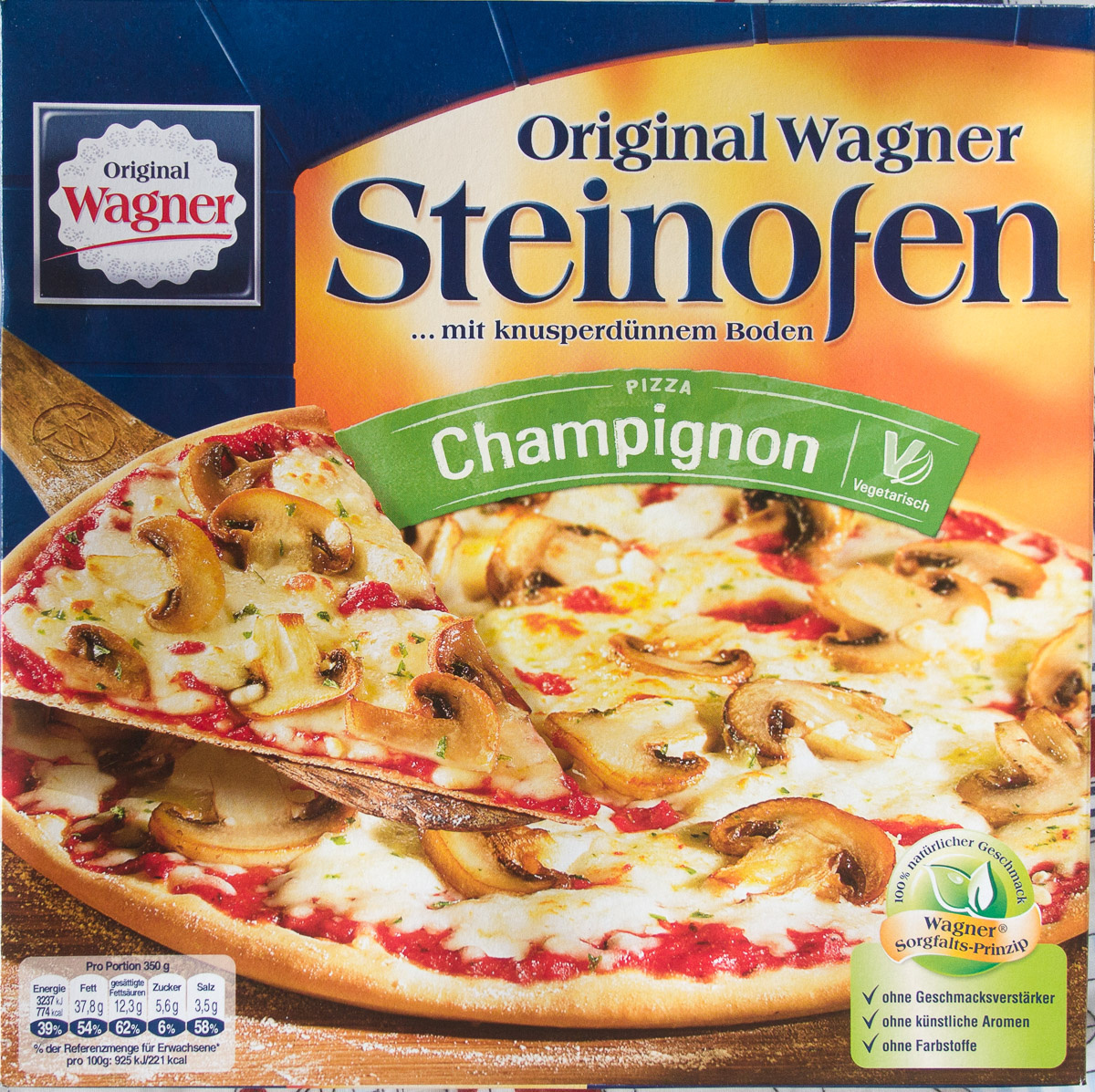 Steinofen Pizza Champignon - Produit - de