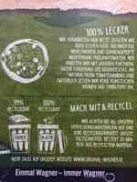 Steinofen Pizza Champignon - Instruction de recyclage et/ou informations d'emballage - de