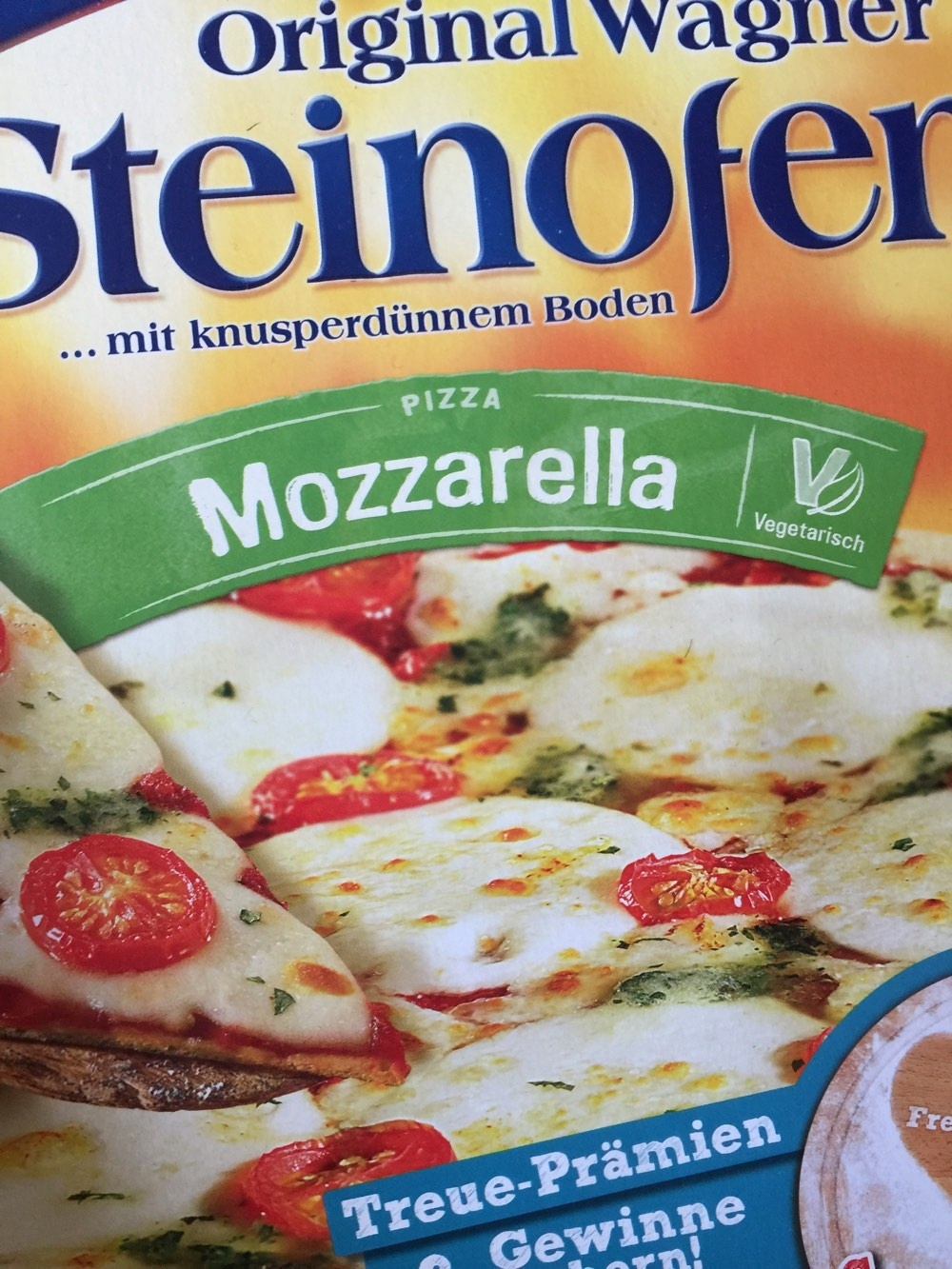 Steinofen Pizza Mozzarella - Produit - fr