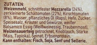 Steinofen Mozzarella - Ingrediënten - de