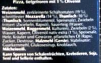Thunfisch mit Zwiebeln und Kräutern - Ingredients