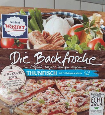Pizza die Backfrische - Thunfisch mit Zwiebeln und Kräutern - Produit - fr