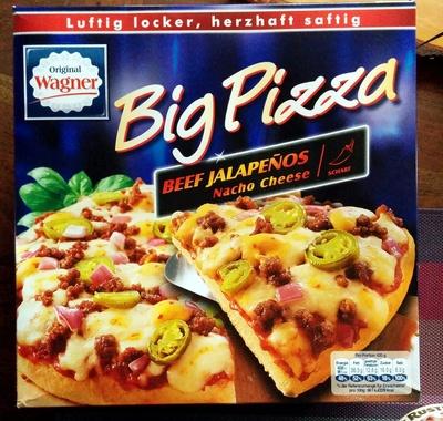 Big Pizza Beef Jalapeños Nacho Cheese - Produit - de