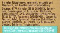 Garnelenpfännchen - Knoblauch - Zutaten - de