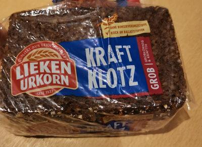 Kraft Klotz - Produit