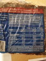Kraft Klotz - Informations nutritionnelles - fr