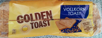 Golden Toast Vollkorn Toast - Produkt - de