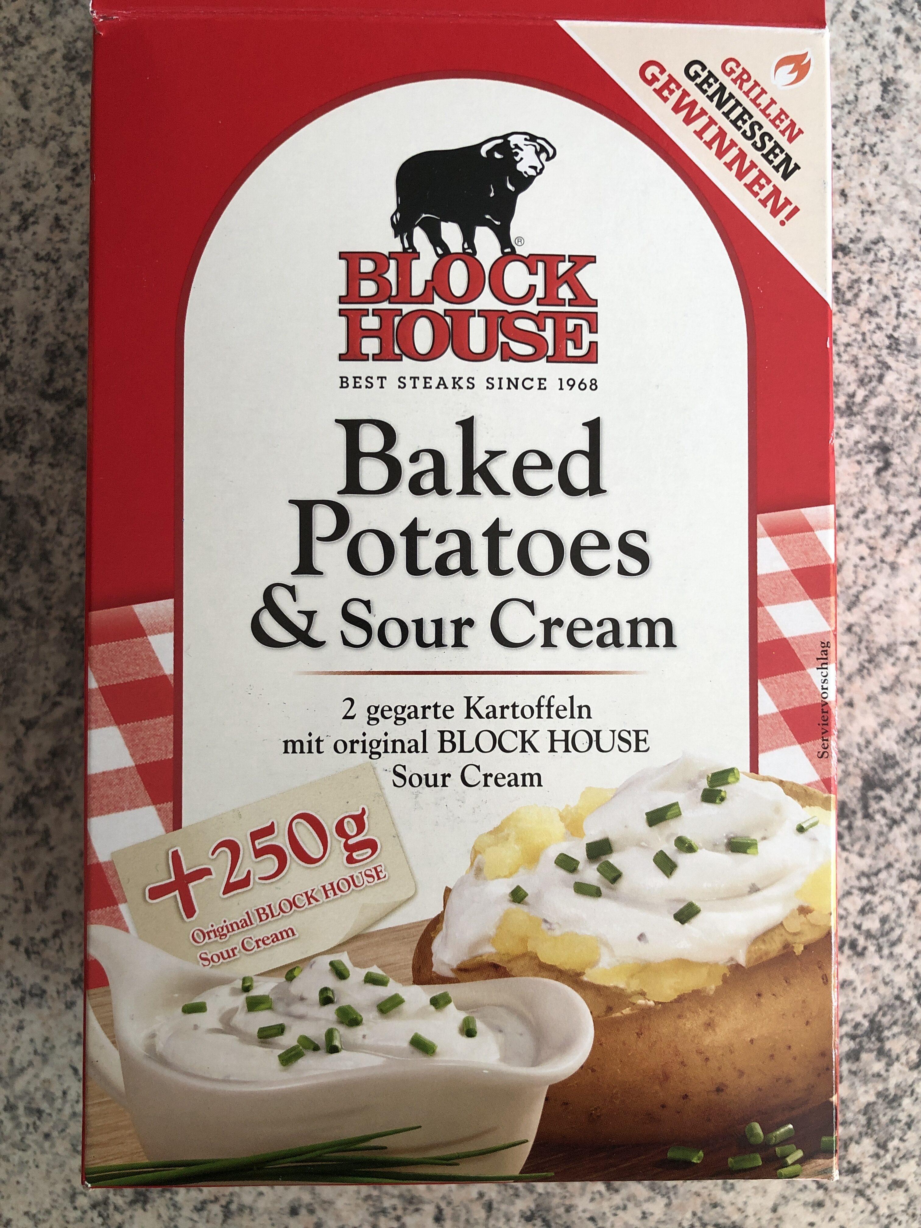 Baked Potatoes & Sour Cream - Product - de