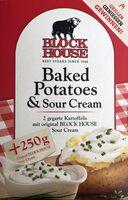 Block House Baked Potatoes & Sour Cream - Product - de