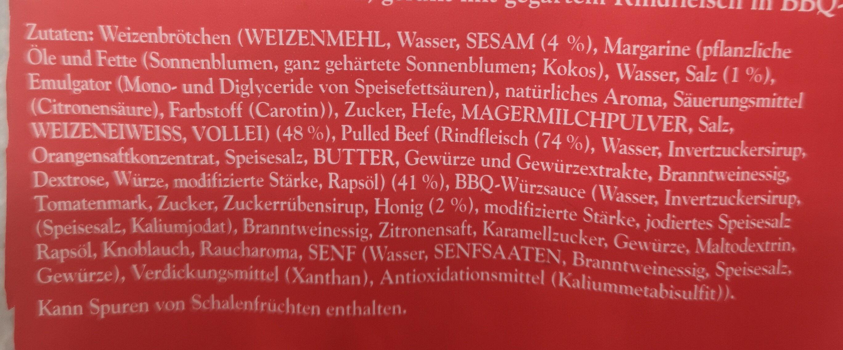 Beef Buns - Ingrediënten - de