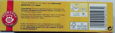 Ostfriesen Teefix - Ingredients - de