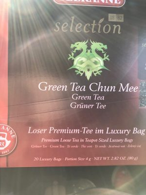 Green tea chun mee - Produit