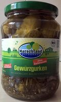 Gewürzgurken Marschland - Produit - de