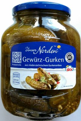 Gewürz-Gurken - Produit - de
