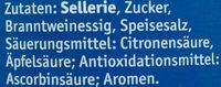 Selleriesalat - Inhaltsstoffe