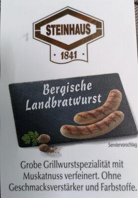 Bergischen Landbratwurst - Produit