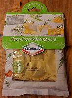 Ziegenfrischkäse-Raviolo - Produit - en