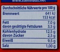 Lasagne Bolognese - Voedingswaarden - de