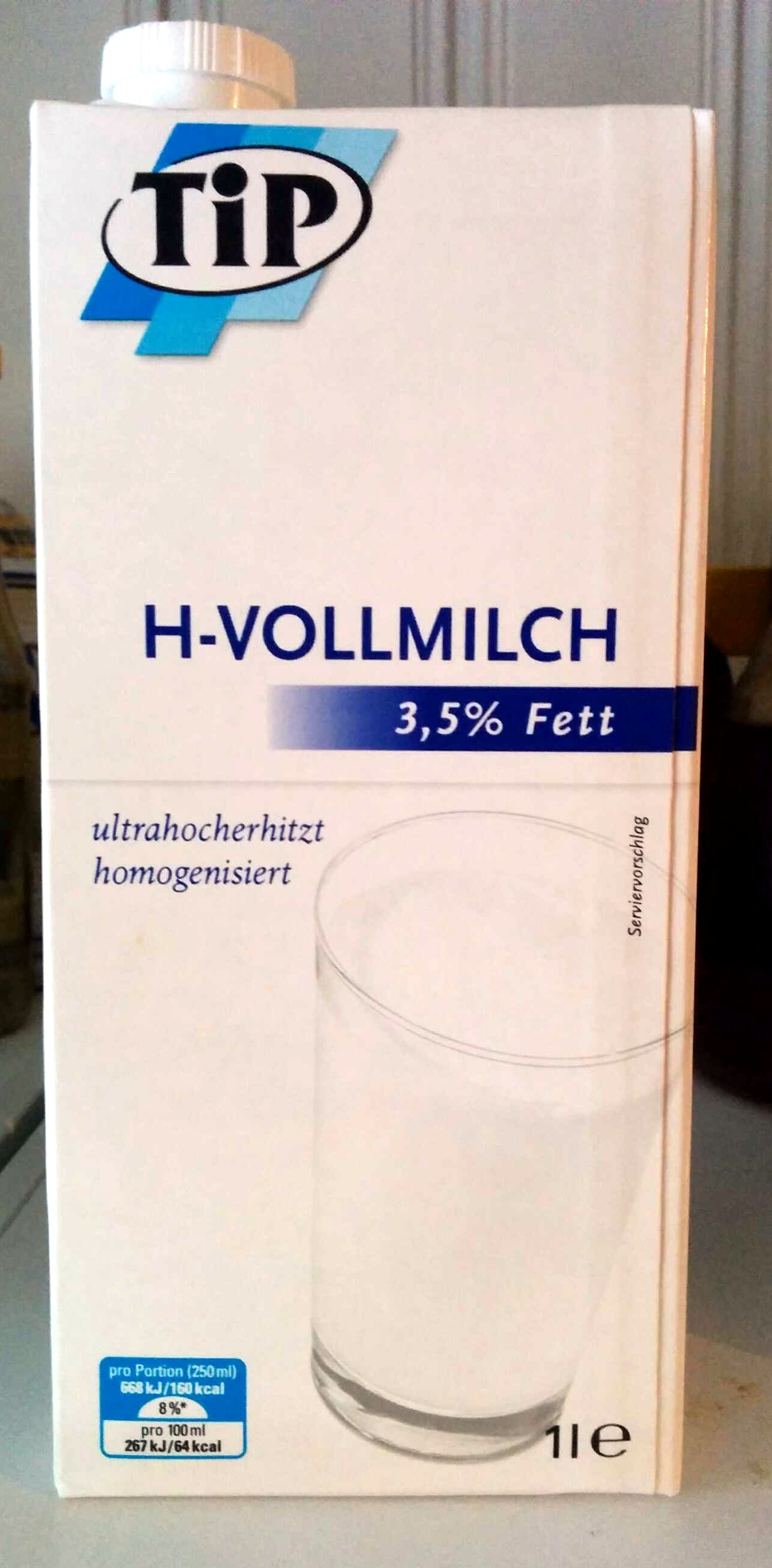 H-Vollmilch - Product